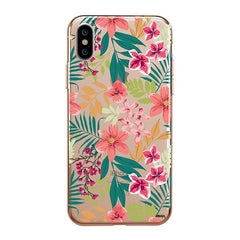 Summer Blossom iPhone XS Max Case Clear