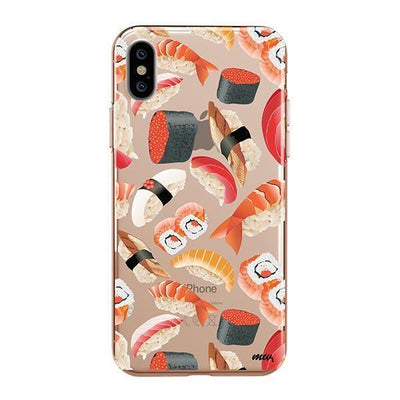 Sushi Pandemonium Clear TPU Case - Clear Cut Silicone iPhone Cover - Milkyway Cases