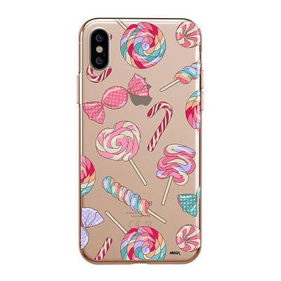 Sweet Tooth Clear TPU Case - Clear Cut Silicone iPhone Cover - Milkyway Cases