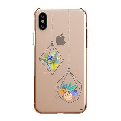 Terrarium Clear TPU Case - Clear Cut Silicone iPhone Cover - Milkyway Cases