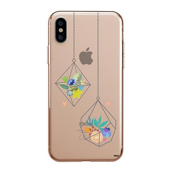 Terrarium iPhone XS Max Case Clear