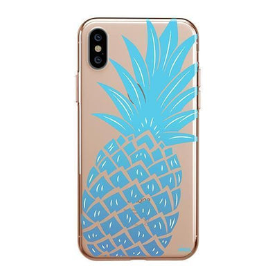 The Big Pineapple Clear TPU Case - Clear Cut Silicone iPhone Cover - Milkyway Cases