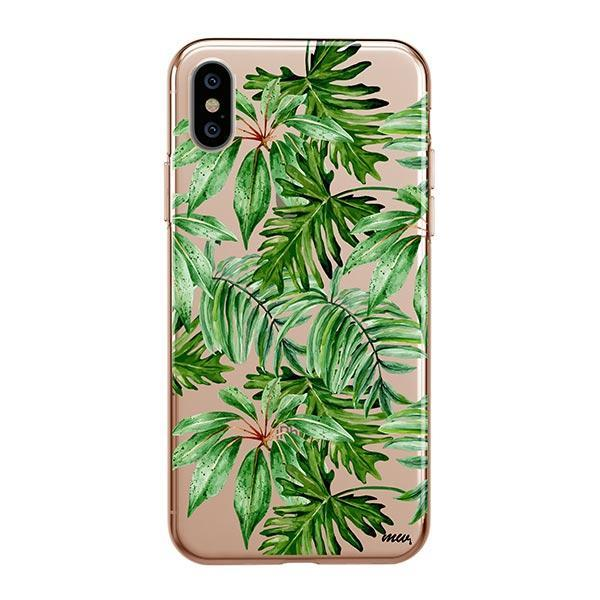 The Tropics iPhone XS Max Case Clear