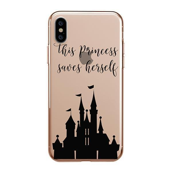 The Princess Saves Herself iPhone XS Max Case Clear