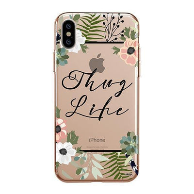 Thug Life - iPhone Clear Case
