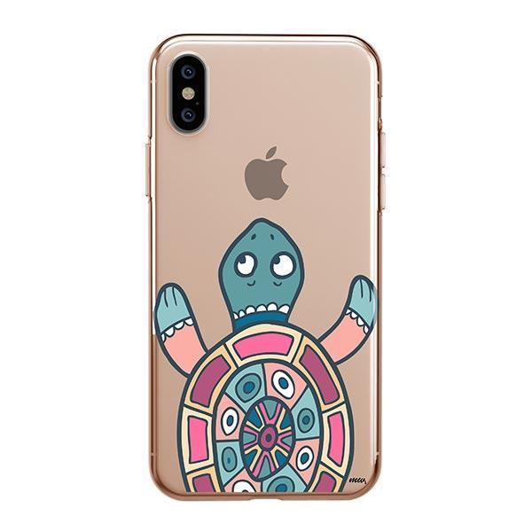 Turtle - iPhone XS Max Case Clear