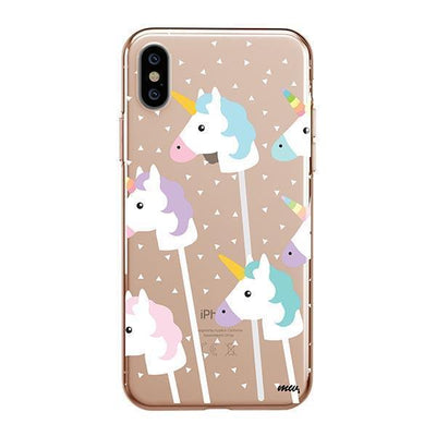 Unicorn Pops - iPhone Clear Case
