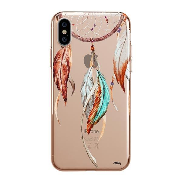Watercolor Dreamcatcher iPhone XS Max Case Clear