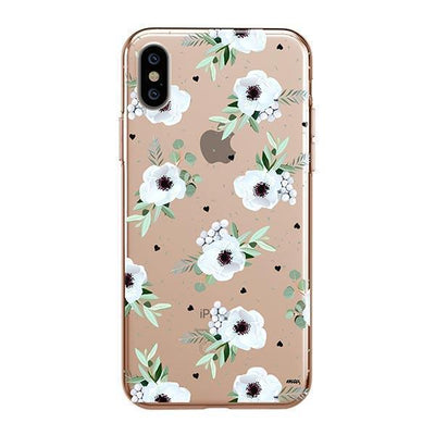 White Blossom - iPhone Clear Case