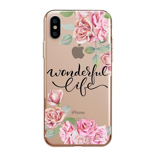 Wonderful Life iPhone XS Max Case Clear