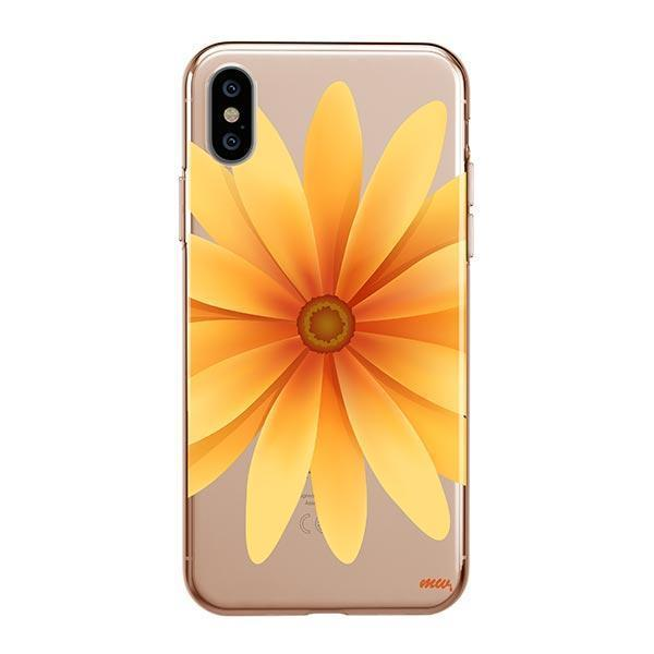 the latest 57f2d 37202 Yellow Daisy iPhone XS Max Case Clear