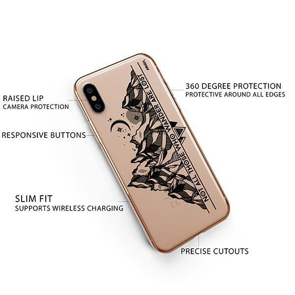 Nomad iPhone XS Case Clear