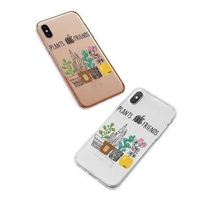 Plants Are Friends iPhone XS Case Clear