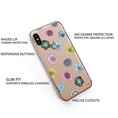 Sylvan Succulent iPhone XS Case Clear