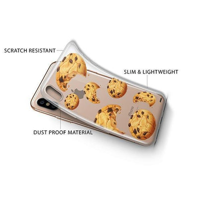 Cookie iPhone XS Case Clear