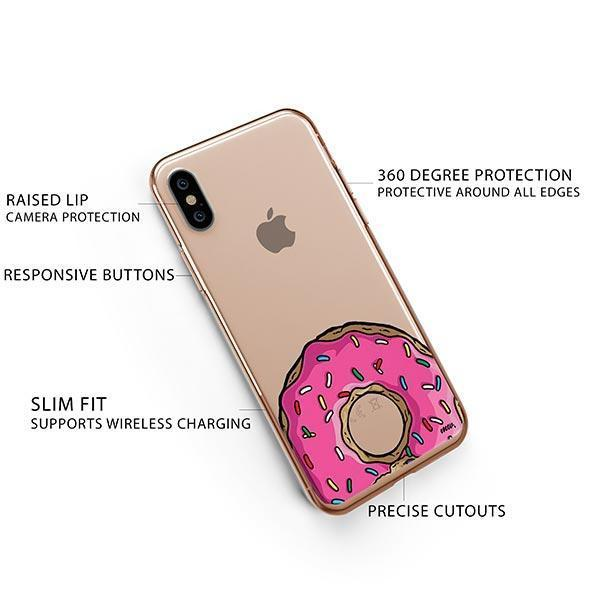 D'ohnuts iPhone XS Case Clear