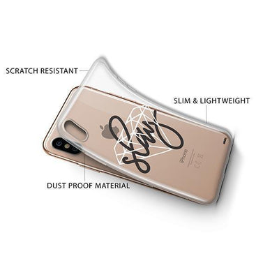 Iced Slay iPhone XS Case Clear