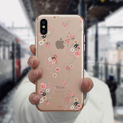 Ditsy iPhone XS Case Clear