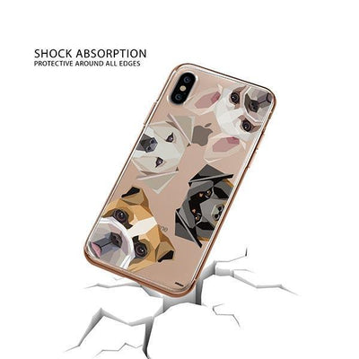 Dogs with Attitude - iPhone XS Clear Case