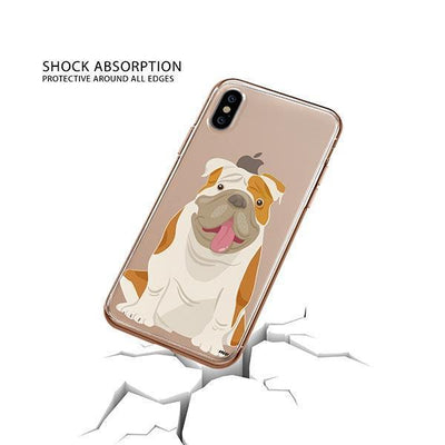 English Bulldog - iPhone XS Clear Case