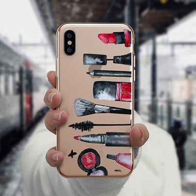 Glam iPhone XS Case Clear