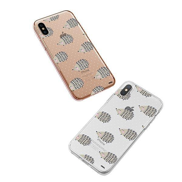 Hedgehog - iPhone XS Case Clear