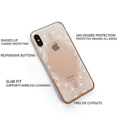 Illume Henna iPhone XS Case Clear
