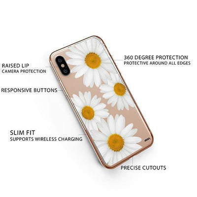 It's Daisies iPhone XS Case Clear