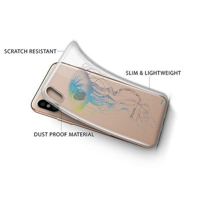 Jelly Fish - iPhone XS Case Clear