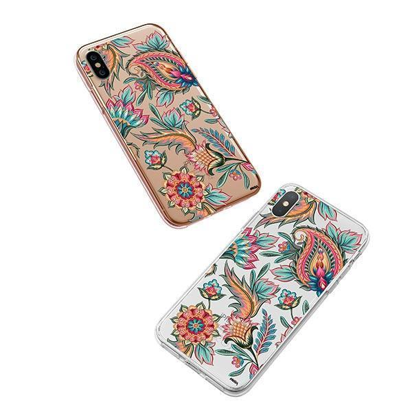 Lola Paisley iPhone XS Case Clear