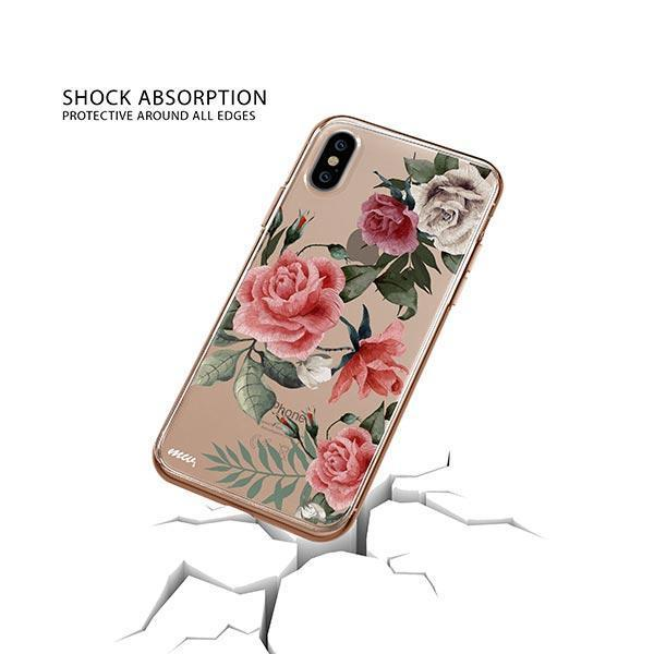Petals iPhone XS Case Clear