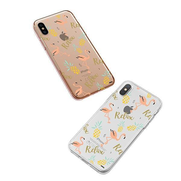 Rela8 iPhone XS Case Clear