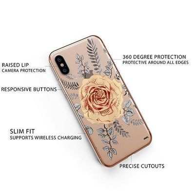 Ryan Rosas iPhone XS Case Clear