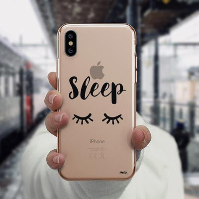 Sleep iPhone XS Case Clear