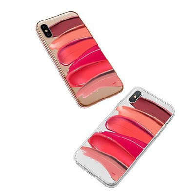 Swatches iPhone XS Case Clear