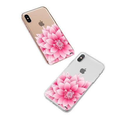 The Dahlia iPhone XS Case Clear