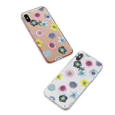 Watercolor Succulent iPhone XS Case Clear
