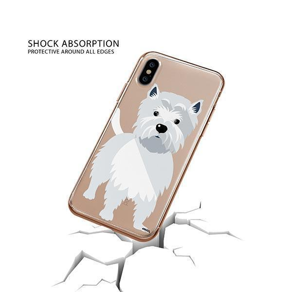 Westie - iPhone XS Clear Case