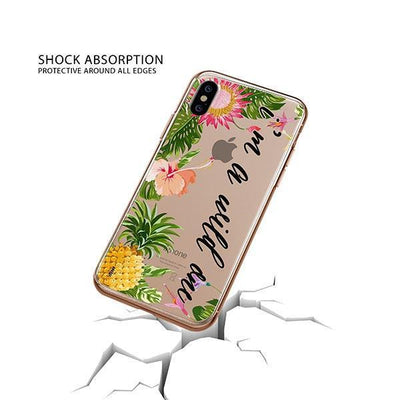 I'm a wild one iPhone XS Case Clear
