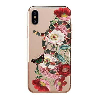 Adam And Eve - iPhone XS Case Clear