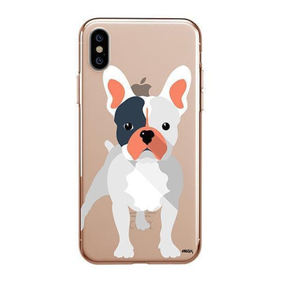 French Bulldog - iPhone XS Clear Case