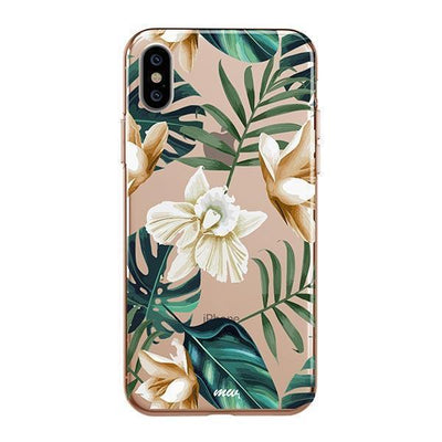 Greenhouse iPhone XS Case Clear