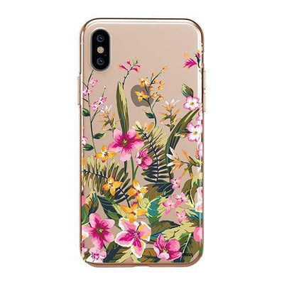 Growing Garden iPhone XS Case Clear