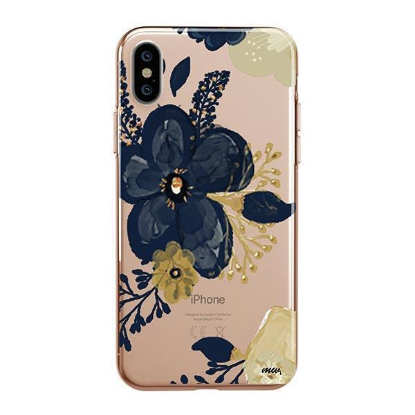 Oprah Floral iPhone XS Case Clear