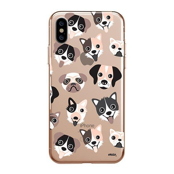 Puppy Love - iPhone XS Clear Case