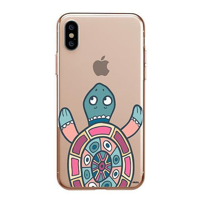 Turtle - iPhone XS Case Clear