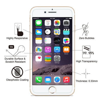 iPhone 8 Tempered Glass