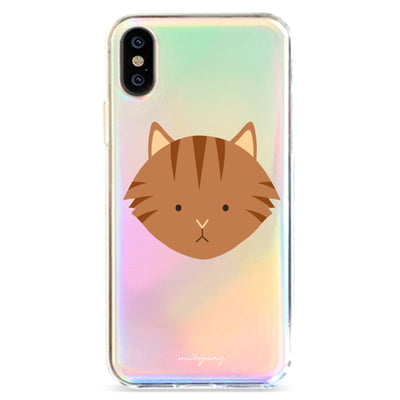 Maine Coon - Holographic iPhone Case