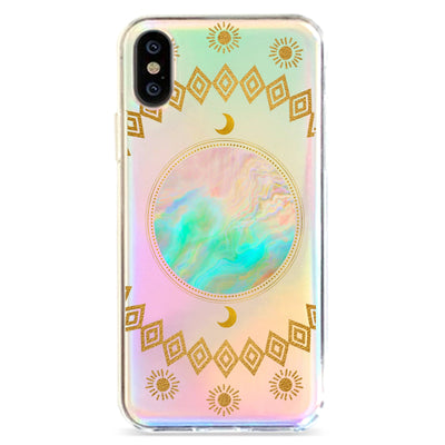 Opal Moon - Holographic iPhone Case