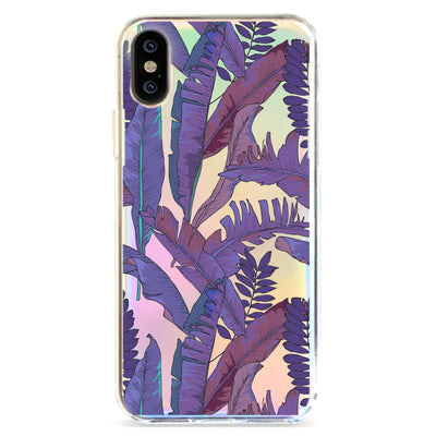 Purple Amazon - Holographic iPhone Case